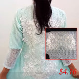 white wedding applique lace patch