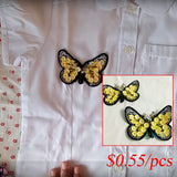 sequins butterfly patch