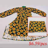 sunflower cotton fabric