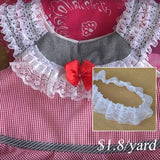lace ribbon for collar