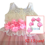flower 3D lace ribbon