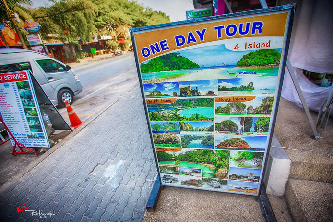 One day tour phuket or krabi