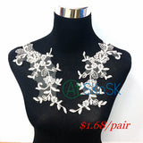 lace collar applique