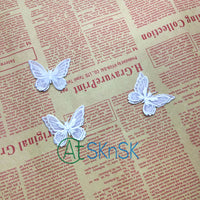 1pcs/lot Plum Blossom Embroidery Patch DIY Iron-on Winter-sweet Floral Patches