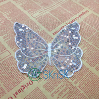 Butterfly Sequined Patch Sew-on Handmade Decoration Stickers