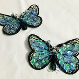 Multi Color Sequins Butterfly Patch for DIY Garment Accessories