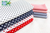 2016 Creative DIY Cotton Fabric, Fabric, Navy style red and blue stripe cloth flat - 100% dot design cotton clothes - fabric - south kingze - 4
