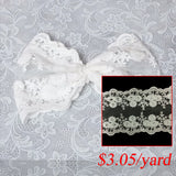 lace trim DIY applique