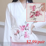 Plum Blossom Embroidery Patch DIY Iron-on Wintersweet Floral Patches