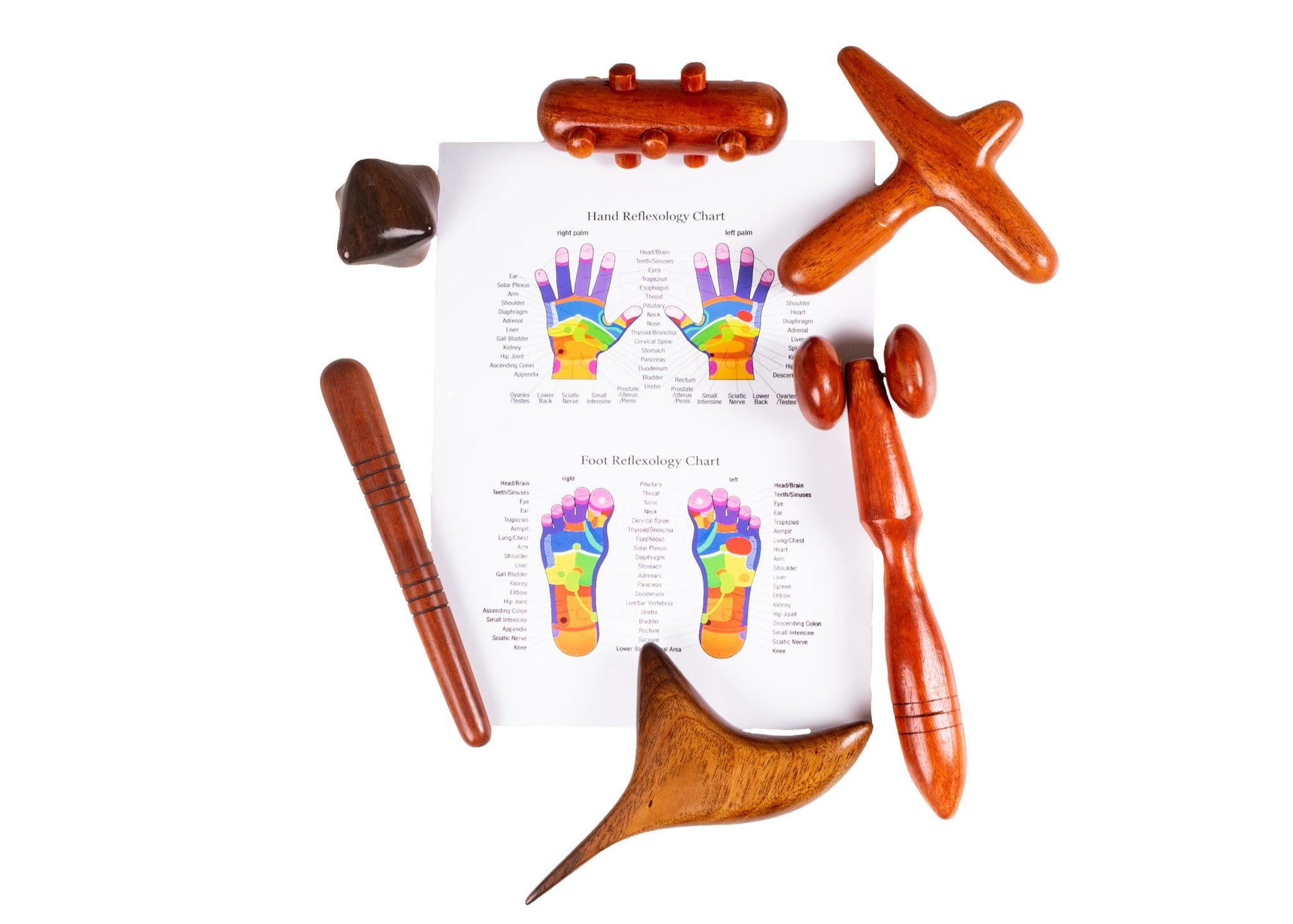 Foot and Hand Massage Wooden Stick - CCCollections