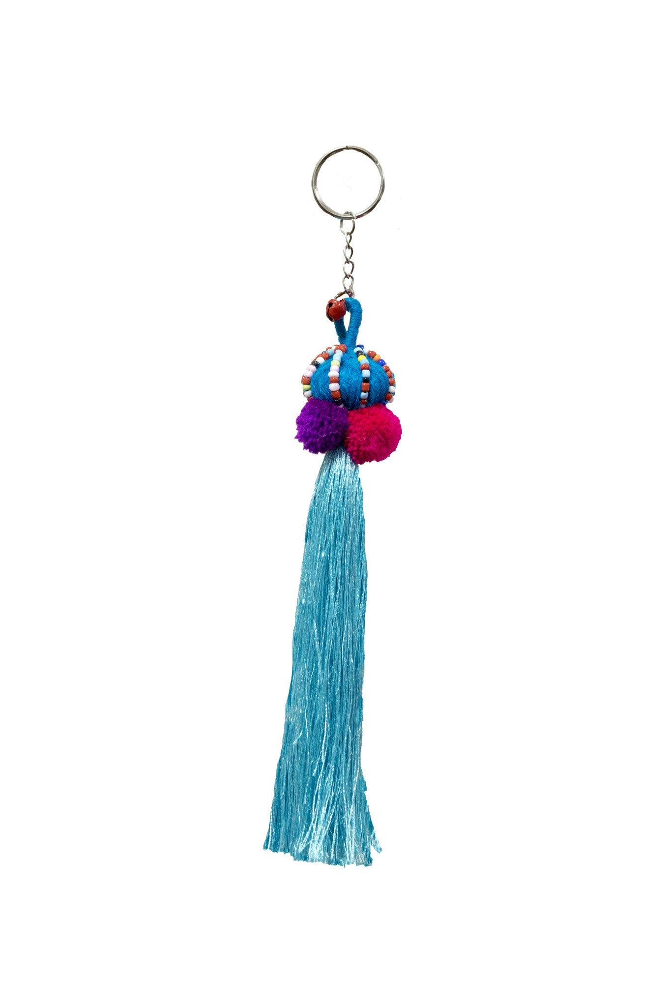 Hilltribe Keychains / Keyrings handmade lucky charm - CCCollections