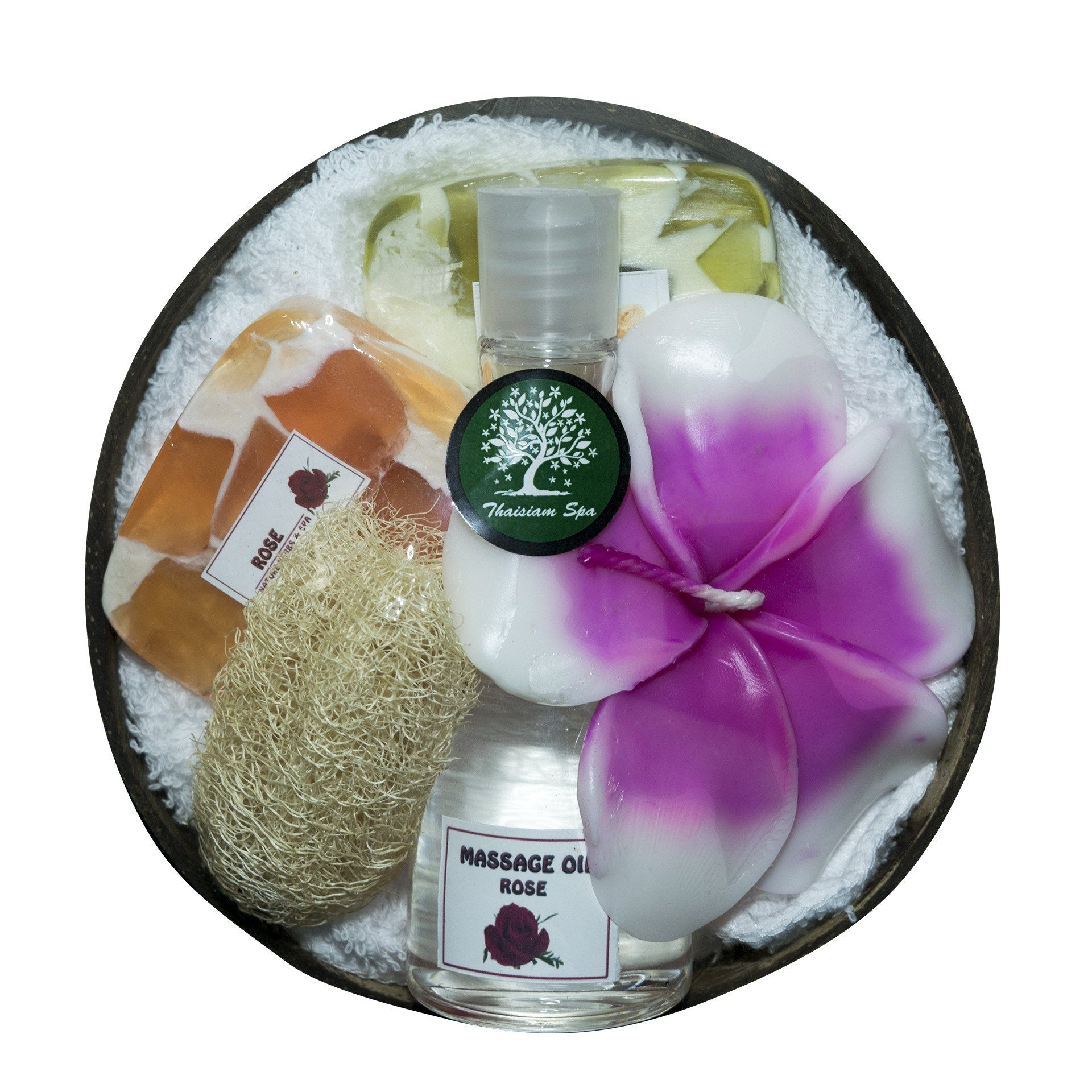 Coconut Bowl Gift Set - Natural Home Spa - CCCollections