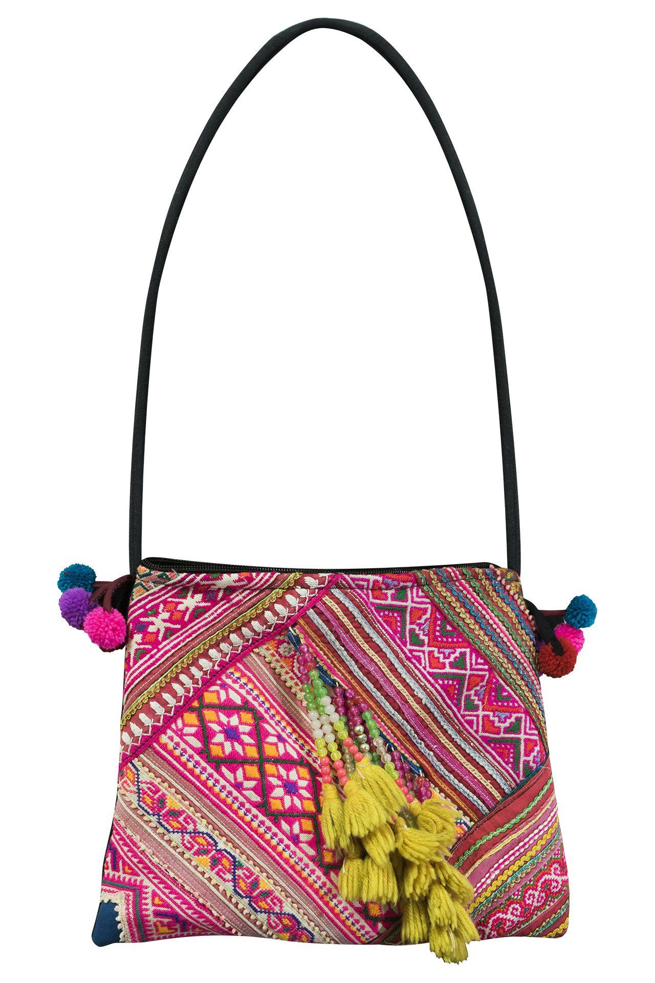 Tribal Vintage Crossed Body Medium bag (CM) - CCCollections