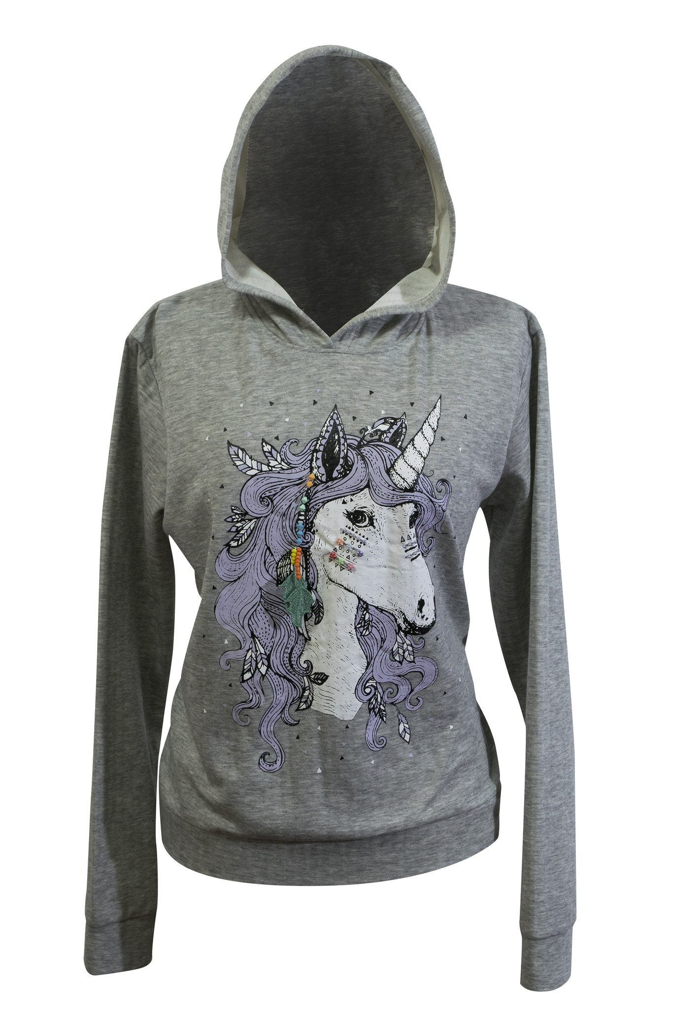 Jumper Printed Embroidery Pullover Hoodie cotton - CCCollections