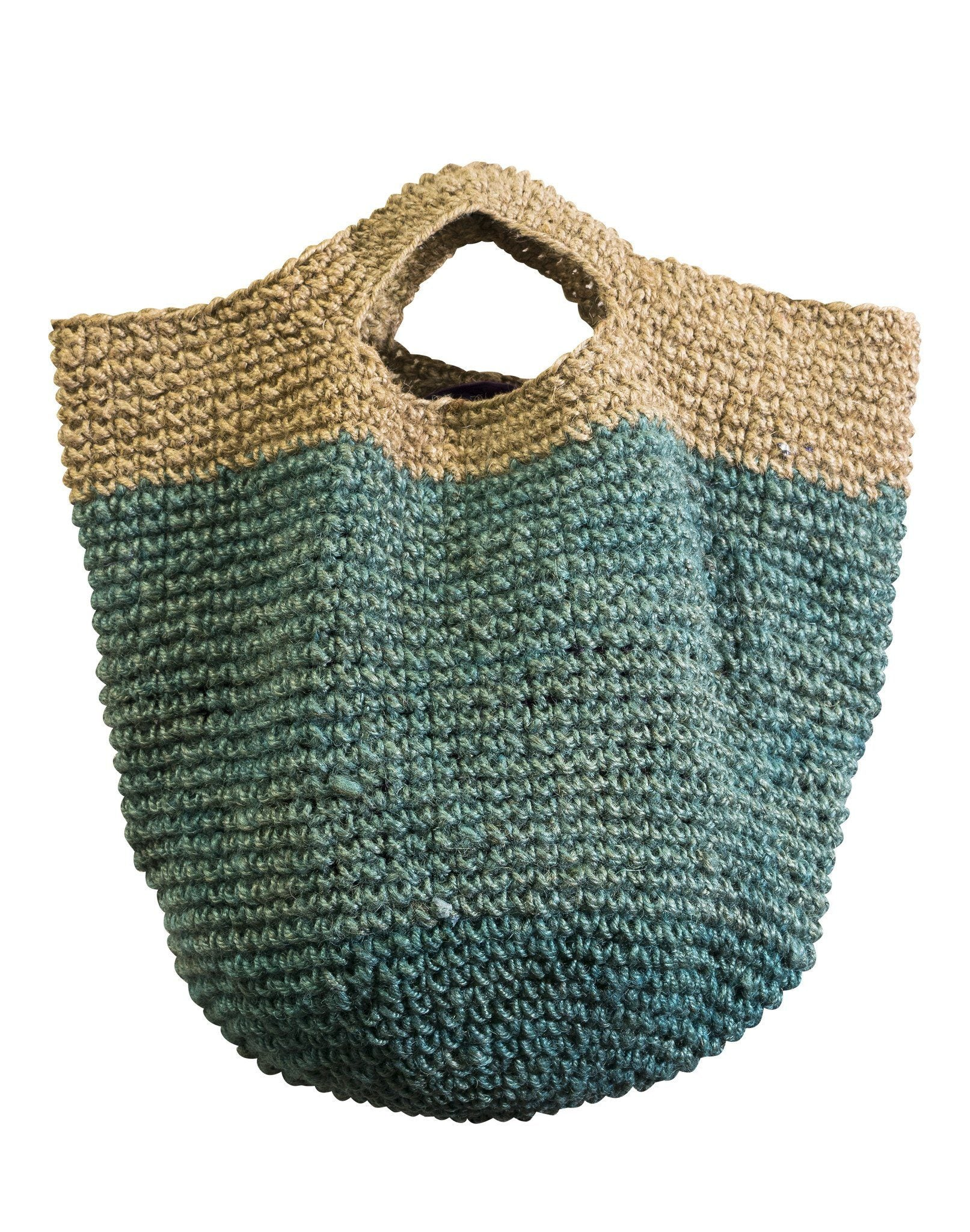 Handmade Crochet Hemp Bag - CCCollections