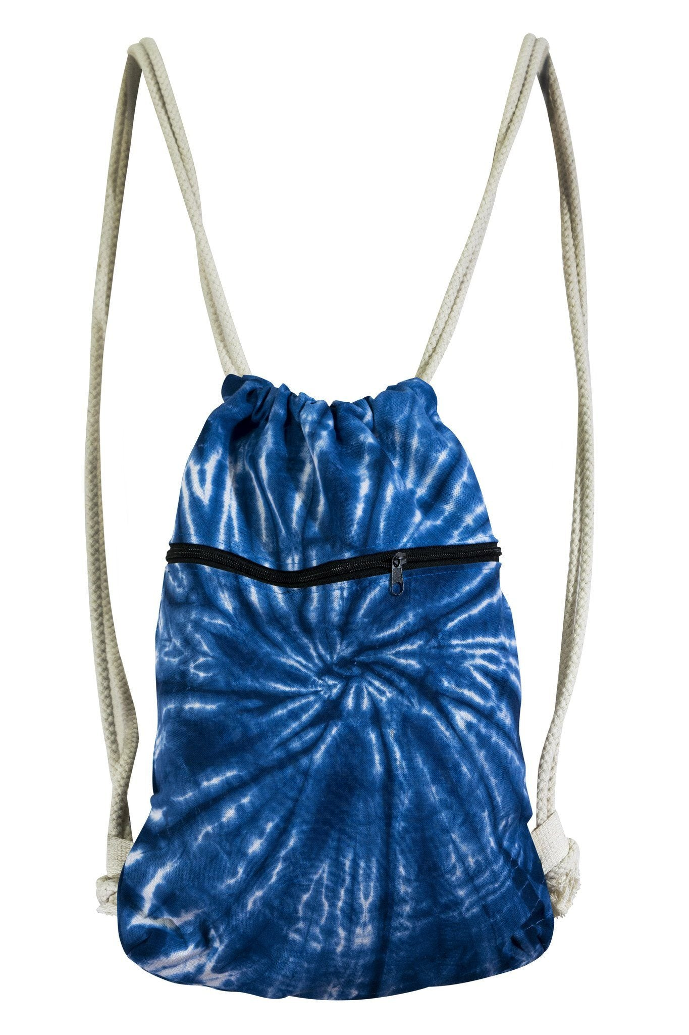 Tie Dye Duffle Bag Drawstring Backpack - CCCollections