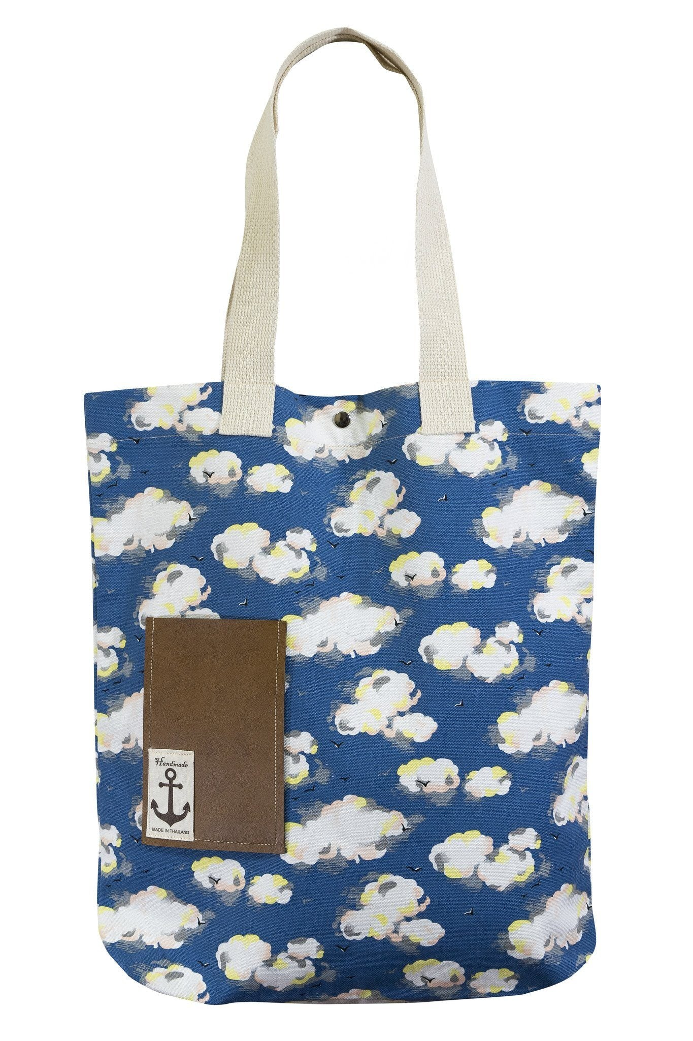 Mr. Tote Shoulder bag Cotton Canvas Printed - CCCollections