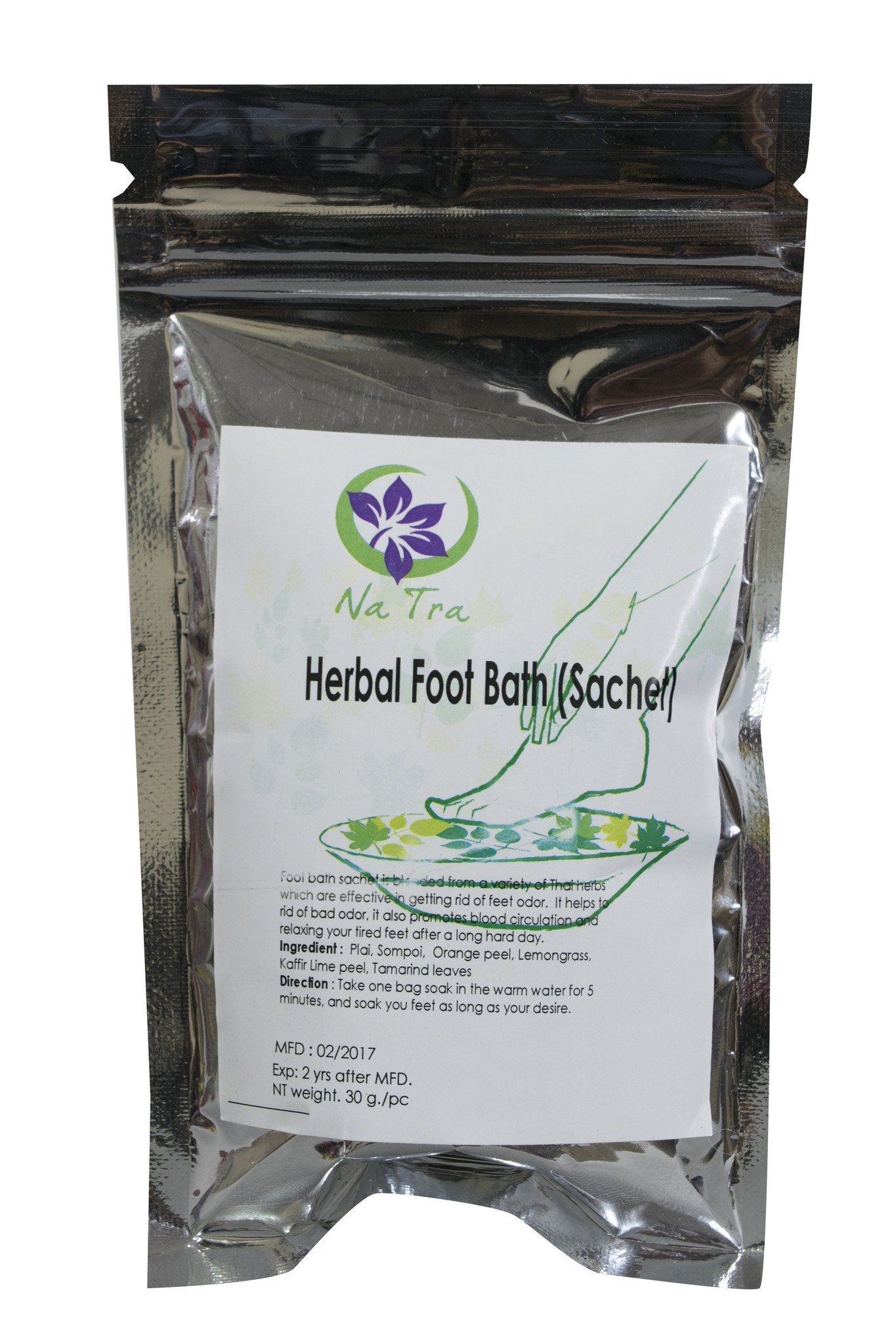 Herbal Foot Bath Sachet Bag - CCCollections