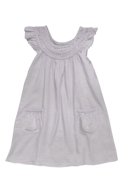 Kids Girl Mini short dress with front pocket - CCCollections