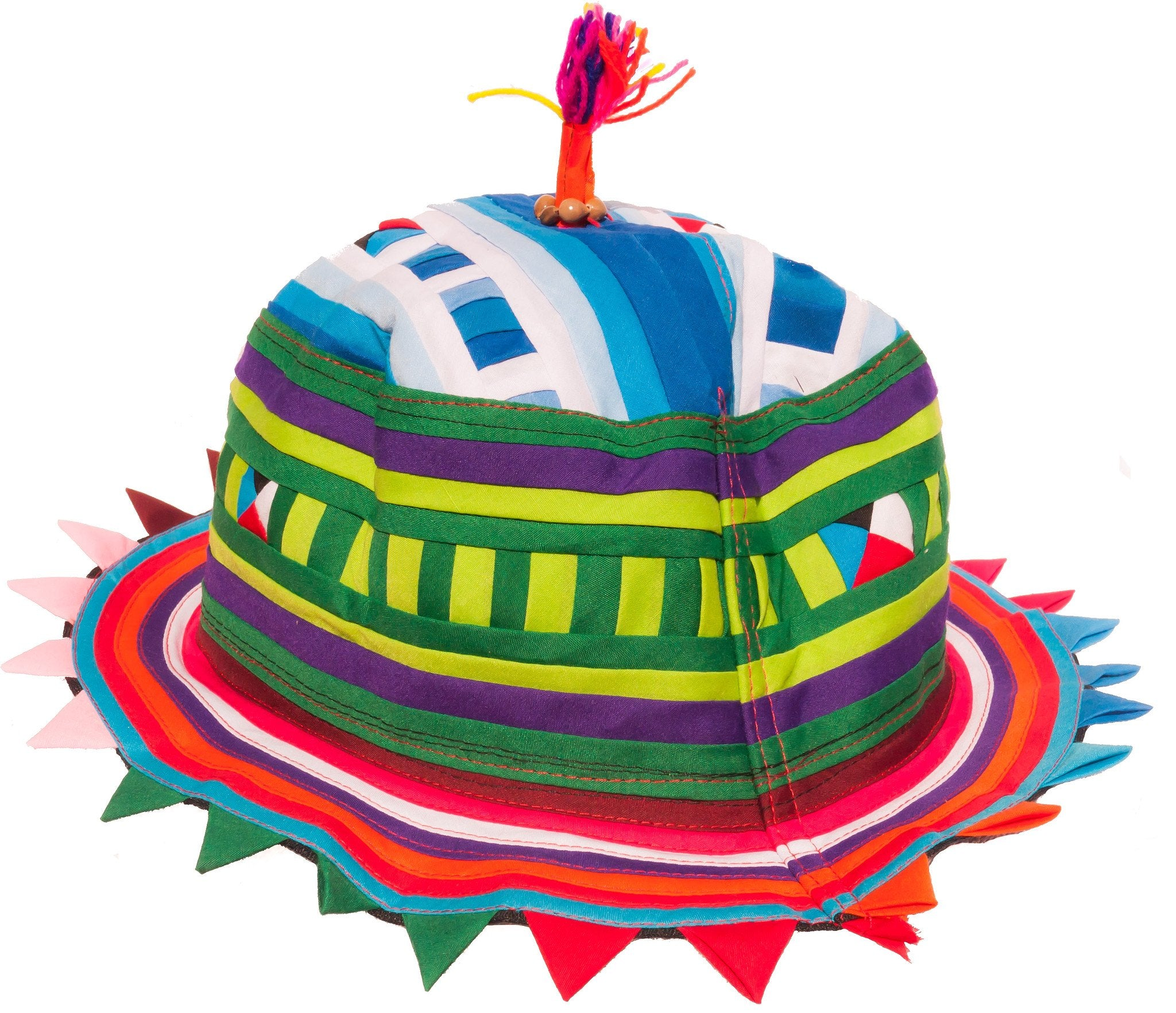 Festival Hat - Flat Round shaped - CCCollections