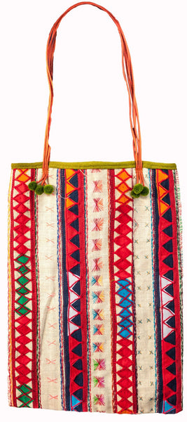 Tribal Shoulder Tote bag handmade - CCCollections