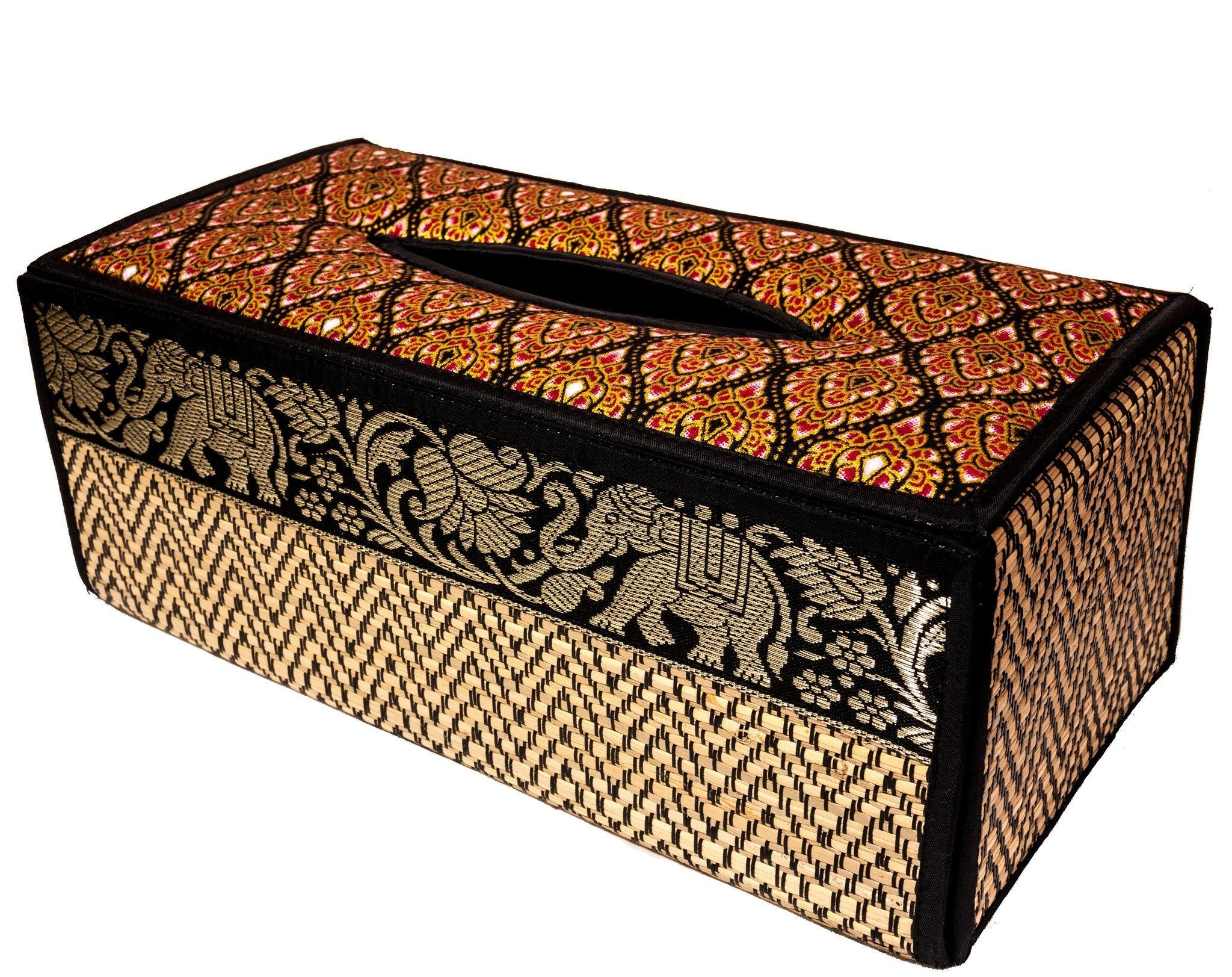Reed TISSUE BOX cover case - CCCollections