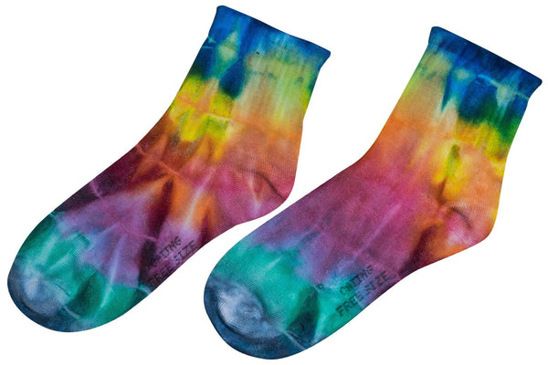 Tie Dye Above Ankle Socks - CCCollections
