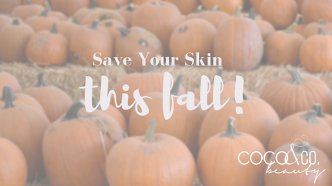 COCO & CO. Save Your Skin Fall Blog Post