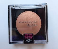 Sexy Sparkles Maybelline Blush 215 Golden Fuse