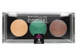 Sexy Sparkles Maybelline EyeStudio Cream Eyeshadow 05 Flash Of Forest