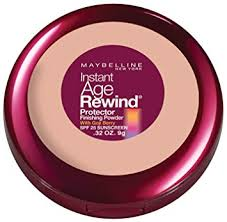 Sexy Sparkles Maybelline New York Instant Age Rewind Protector Finishing Powder, Classic Beige, 0.32 Ounce