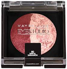 Sexy Sparkles Maybelline Eye Studio Color Pearls Marbleized Baked Eye Shadow 80 Sinful Sinnamon