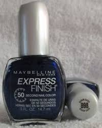Sexy Sparkles Maybelline Express Finish Nail Polish 898  Denim Dash