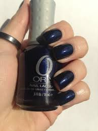 Sexy Sparkles Orly Nail Polish Lacquer - 40003 In The Navy