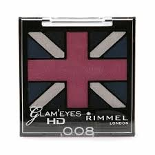 Sexy Sparkles  Rimmel Glam 'Eyes HD Quad Eyeshadow 008 True Union Jack