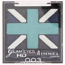 Sexy Sparkles  Rimmel Glam 'Eyes HD Quad Eyeshadow 003 Royal Blue