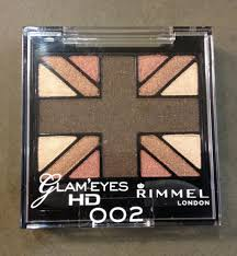 Sexy Sparkles Rimmel London Quartet Eye Shadow Glam Eyes HD 002 English Oak