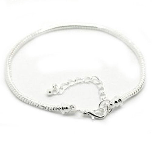 "Starter Master Bracelet 7.5"" Removable Lobster Claw + 1-1/2 Extension Chain"