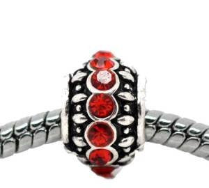 Birthstone  Charm European Bead Compatible for Most European Snake Chain Bracelet - Sexy Sparkles Fashion Jewelry - 4