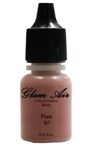 Glam Air Airbrush Blush Makeup B7 Plum Blush Water-based Makeup 0.25oz Bottle - Sexy Sparkles Fashion Jewelry - 1