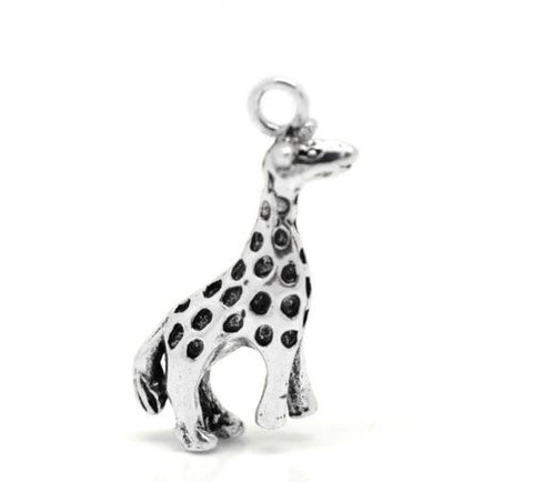 Giraffe Animal Bracelet Necklace Charm Pendant - Sexy Sparkles Fashion Jewelry - 4