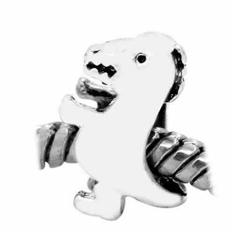 Baby Dinosaur Charm European Bead Compatible for Most European Snake Chain Bracelet - Sexy Sparkles Fashion Jewelry - 2