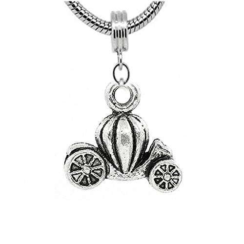 Cinderella's Princess Pumpkin Carriage Coach Charm