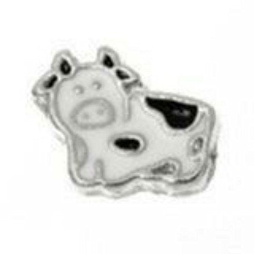 Beautiful Cow Floating Charms For Glass Living Memory Locket - Sexy Sparkles Fashion Jewelry