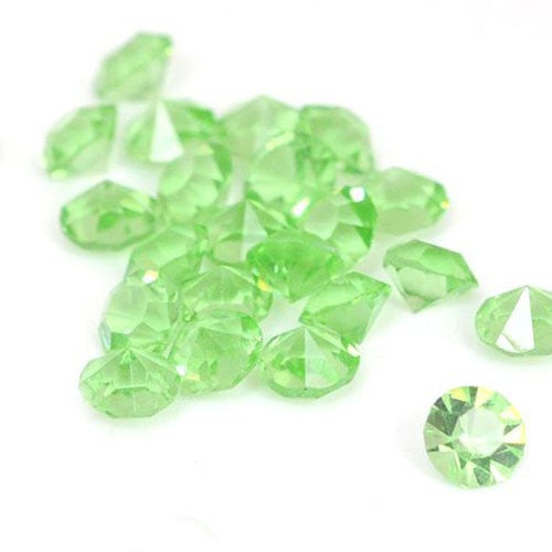 10 Created Crystal Birthstones for Floating Charm Lockets (Peridot) - Sexy Sparkles Fashion Jewelry