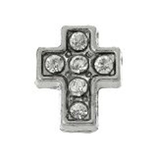 Beautiful Cross Floating Charms For Glass Living Memory Locket - Sexy Sparkles Fashion Jewelry