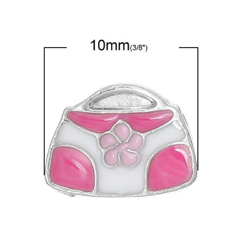 Hand Bag Floating Charms for Glass Locket Pendants and Floating - Sexy Sparkles Fashion Jewelry - 2