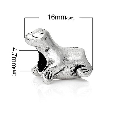 Seal Animal Bead Compatible for Most European Snake Chain Bracelet - Sexy Sparkles Fashion Jewelry - 2
