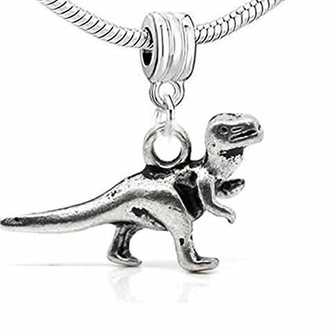 Dinosaur 3d Dangle Spacer European Bead Compatible for Most European Snake Chain Bracelet - Sexy Sparkles Fashion Jewelry - 1