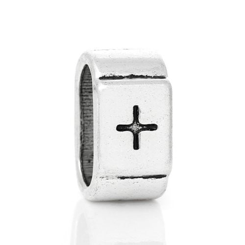 Charm Beads for Leather Bracelet/watch Bands or Wrist Bands (Cross) - Sexy Sparkles Fashion Jewelry - 1